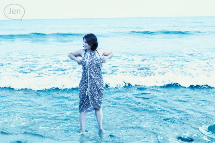 Hampton Beach, NH, Jen, miss pixel, Jen Guevara