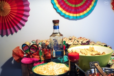 Cinco de mayo, fiesta, decor, burrito bar