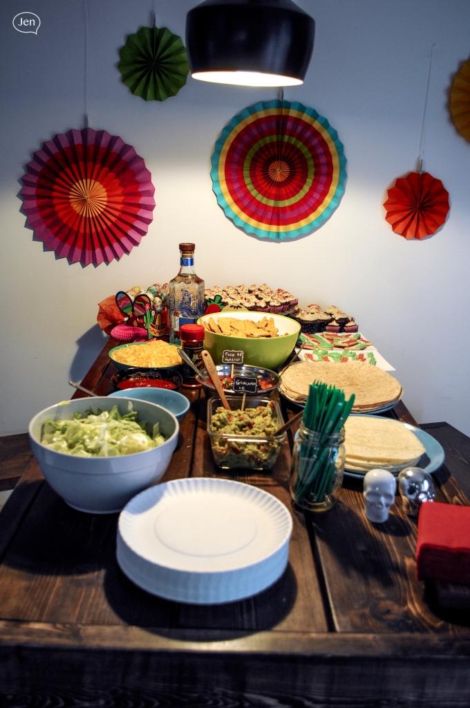 Cinco de mayo, burrito bar, fiesta
