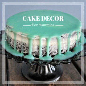 Easy diy dripping cake