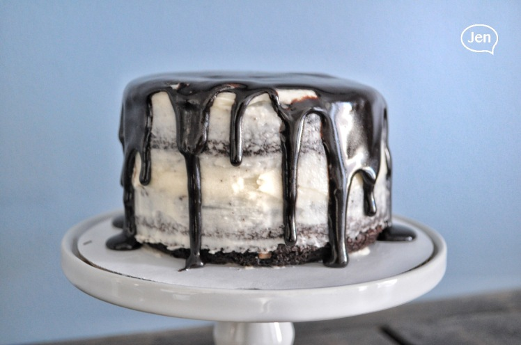 Easy diy dripping cake
